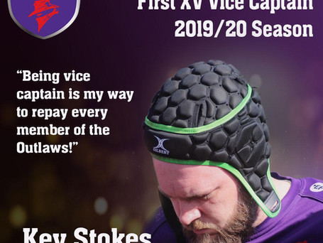 INTRODUCING OUR 2019/20 VICE CAPTAIN