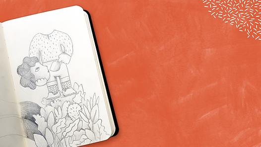 Sketchbook on Sand