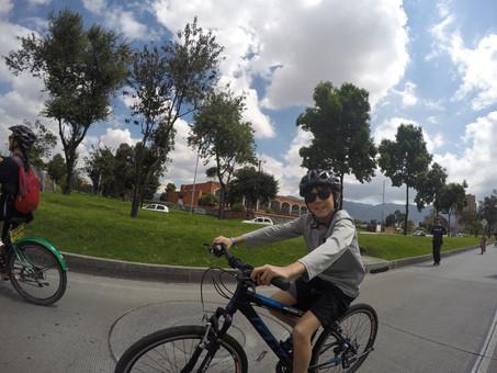 Bogotá biking