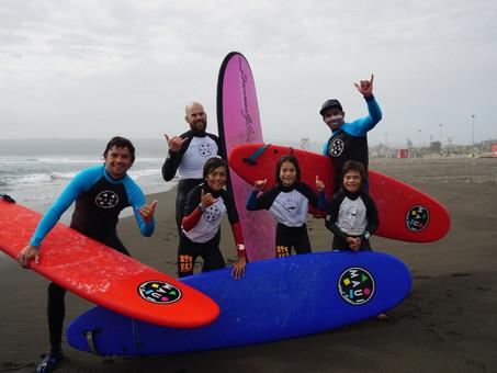 Rad surfing in Pichilemu