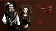 Sweeney Todd Custom OOAK Doll