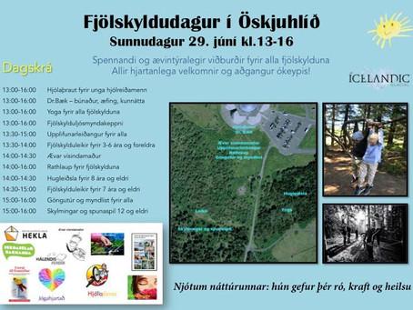 Fjölskyldudagur í Öskjuhlíð