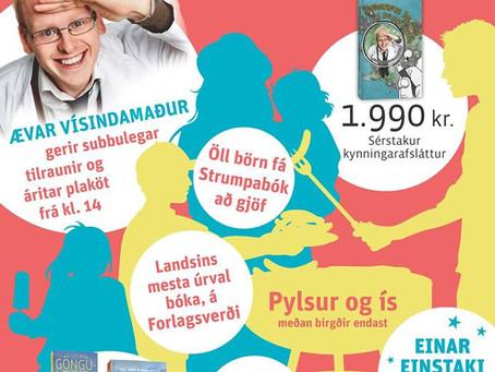Fjör á Fiskislóð í dag!