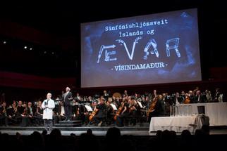 Myndir frá Sinfó