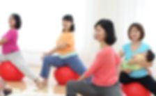 産後のバランスボール教室