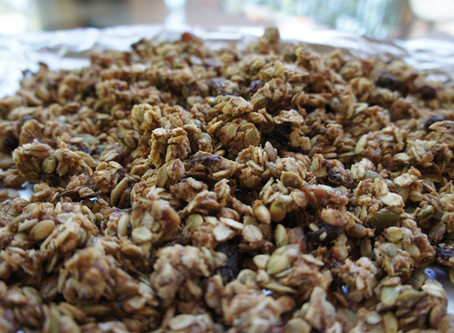 Whole-Wheat Granola