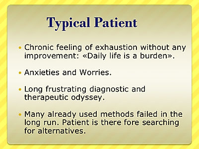 Adrenal fatigue typical patient complaints