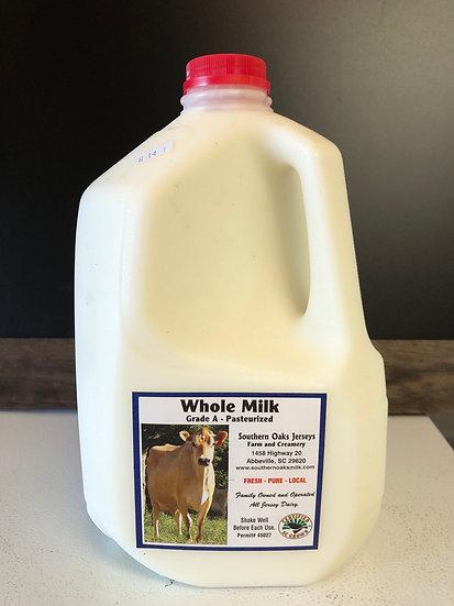 1 gallon Whole Milk
