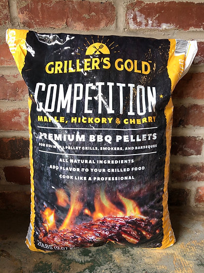 Competition BBQ Pellets