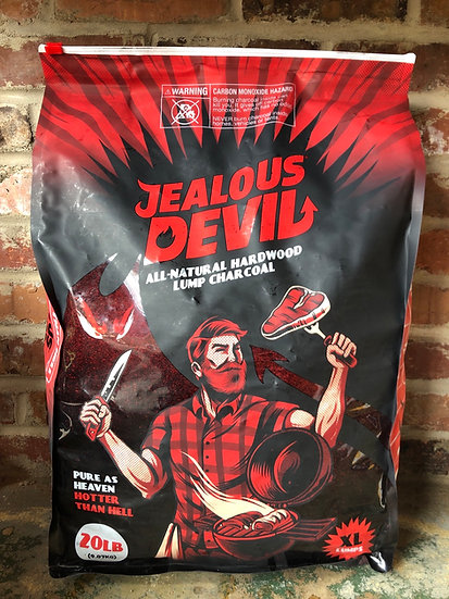 Jealous Devil all natural lump charcoal