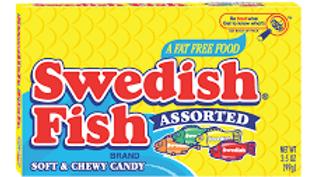 Swedish Fish Assorted Theatre Box 99g