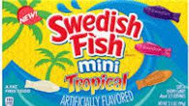 Swedish Fish Mini Tropical Theatre Box 99g
