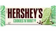 Hersheys Cookies n Mint bar 40g