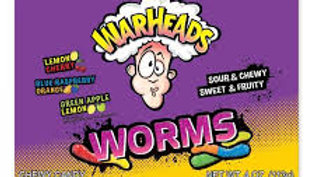 Warheads Sour Worms 113g