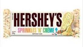Hersheys Sprinkles 'N' Creme Birthday Cake Bar 39g