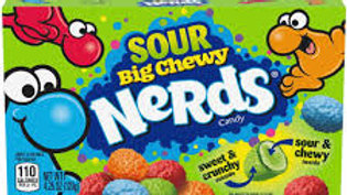 Nerds Big Chewy Sour Candy Theatre Box 120g