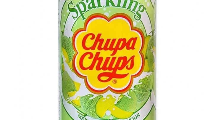 Chupa Chups sparkling melon cream flavour 345ml