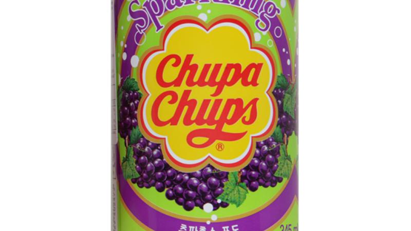 Chupa Chups sparkling grape flavour 345ml