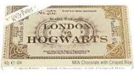 Harry Potter Platform 9 ¾ Milk Chocolate Train Ticket 42g