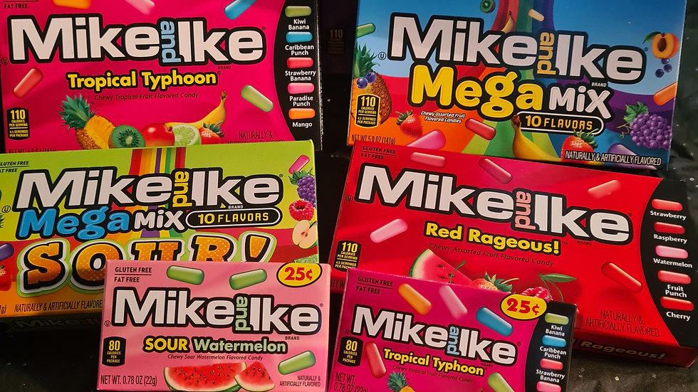 Mega mike&Ike box