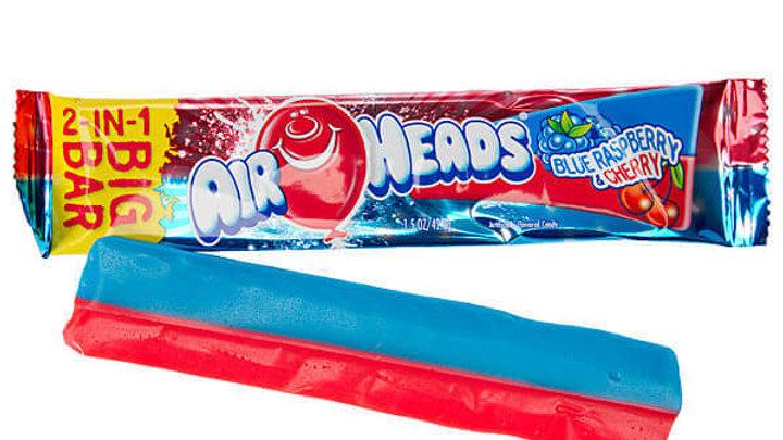 Airhead big bar 2in1 (blue raspberry and cherry)