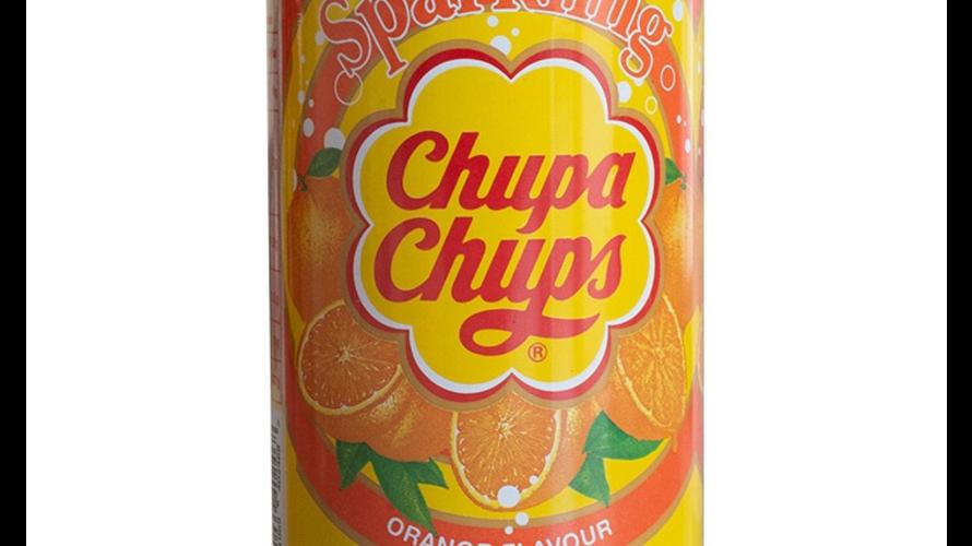 Chupa Chups sparkling orange flavour 345ml