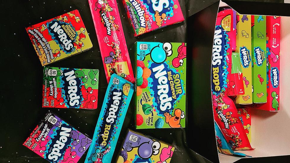 Nerds themed box!