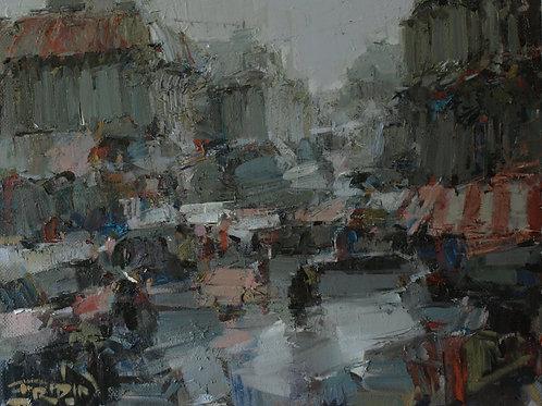 """Eugene Fridlin """"City morning"""" (Sold in Europe)"""