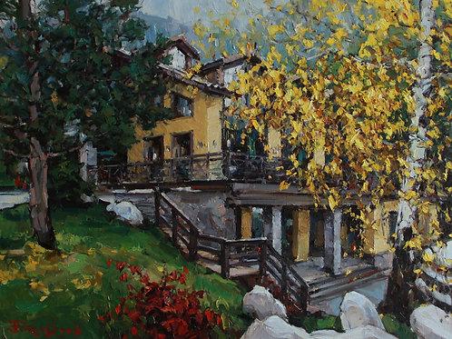 "Eugene Fridlin "" Autumn in a Forest Fairy Tale"""