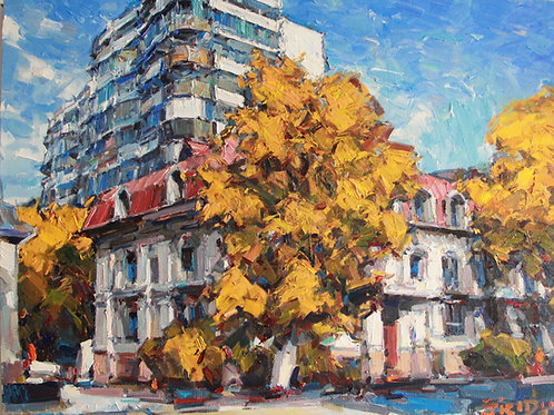 "Eugene Fridlin  ""Alma-Ata Series. Autumn"""