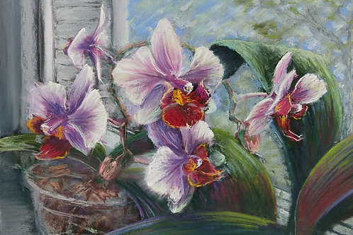 "Olga Gorbenko ""Flowers on the window"""