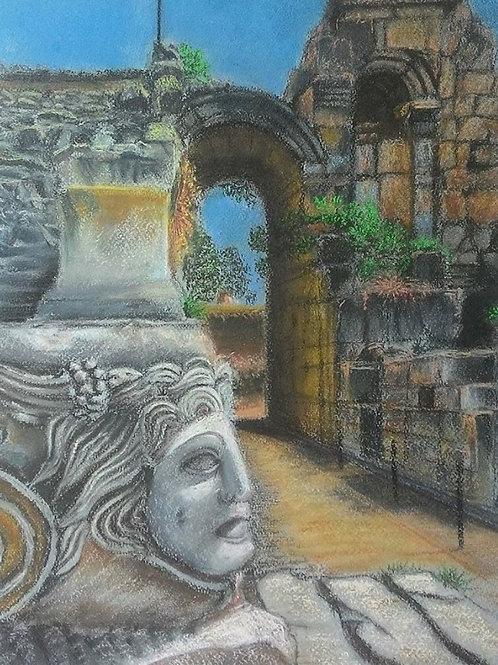 """Olga Gorbenko """"Turkey. Old amphitheater"""""""