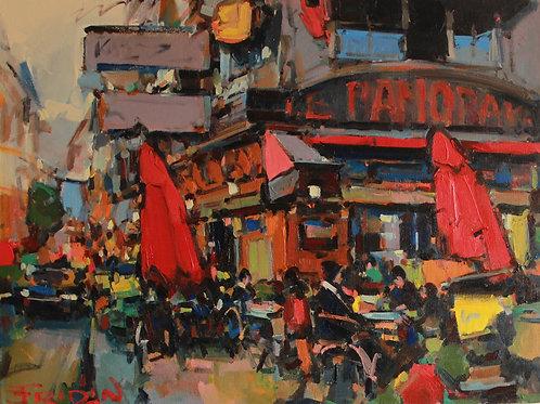 "Eugene Fridlin ""Paris. Cafe Panorama"""