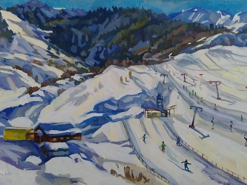 "Zarina Chukitaeva ""The Tabagan mountains"""