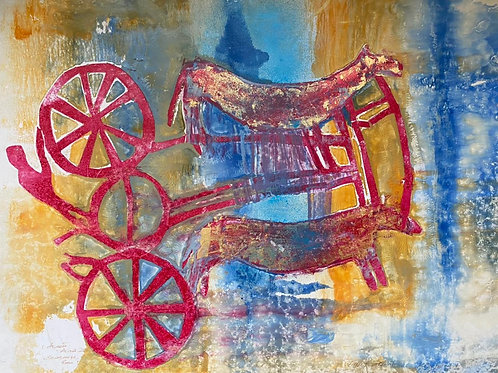 "Akhatbakiev Akhmetzhan ""Quadriga.Chariot"""