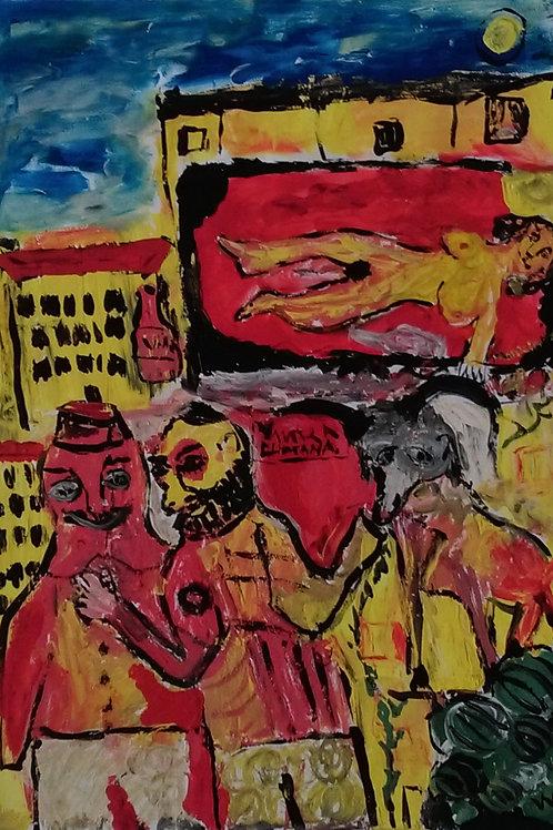 """Vasiliy Dergachev """"Chagall Street"""""""