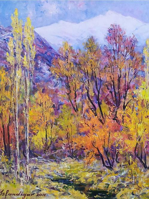 """Haidarov Isfandiyar """"Autumn"""""""