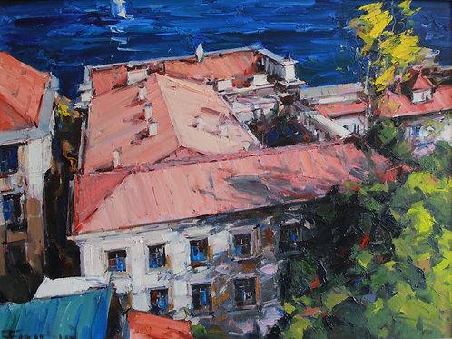 "Eugene Fridlin ""House by the sea"""