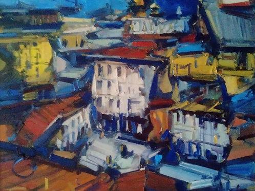"""Eugene Fridlin  """"City roofs"""""""