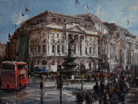 """The Eugene Fridlin's exhibition """"Somewhere in London"""""""