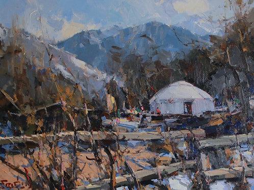 """Eugene Fridlin """"Spring in the mountains"""""""