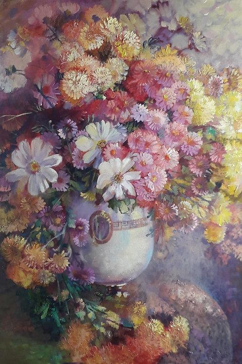 "Elena Tyo ""Chrysanthemums"""