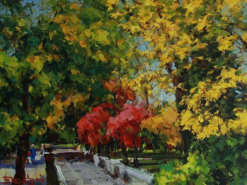 "Evgeny Fridlin ""Almaty Autumn"""