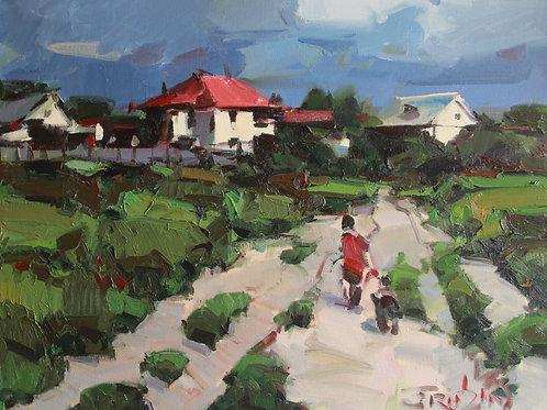 "Eugene Fridlin ""Landscape"""