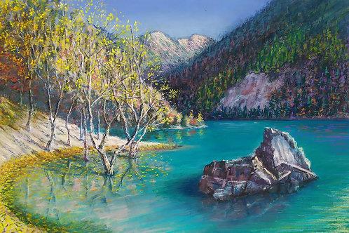 "Olga Gorbenko ""Lake Issyk"""