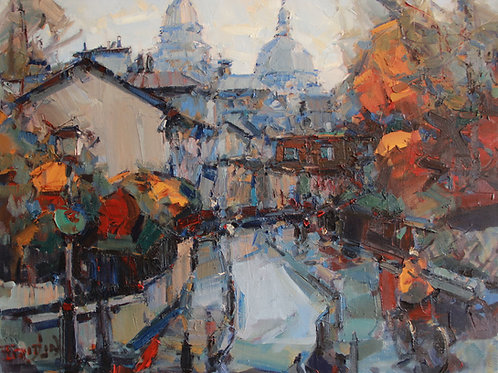 """Eugene Fridlin """"Montmartre. Autumn"""""""