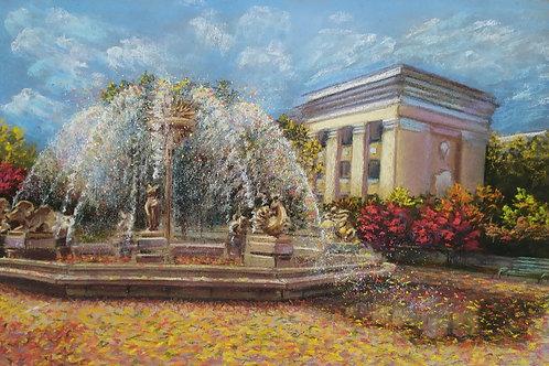 "Olga Gorbenko ""Zodiac fountain near the Academy of Sciences"""