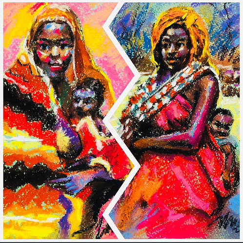 """Moses Zibor """"Mother"""""""