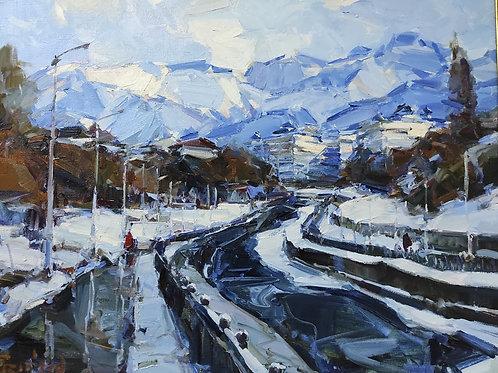 """Eugene Fridlin  """"Winter on Vesnovka"""""""