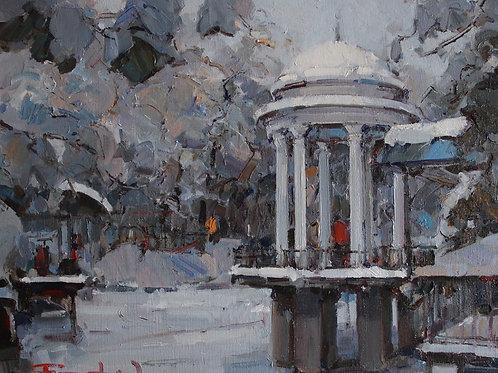 """Eugene Fridlin """"Path in winter"""""""